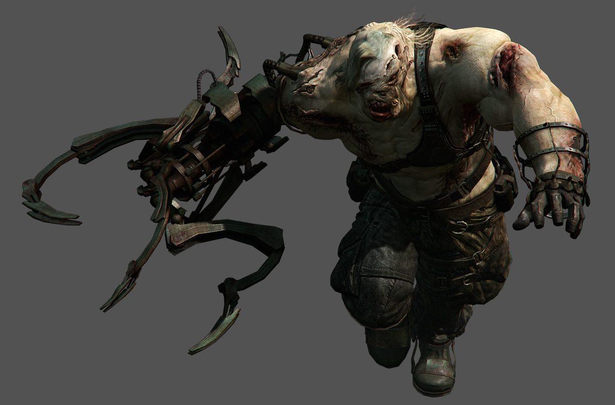 Batman Vs Ustanak Resident Evil 6 Battles Comic Vine