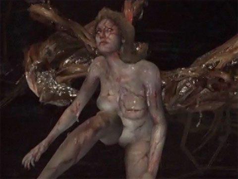 Resident evil 6 nude scene