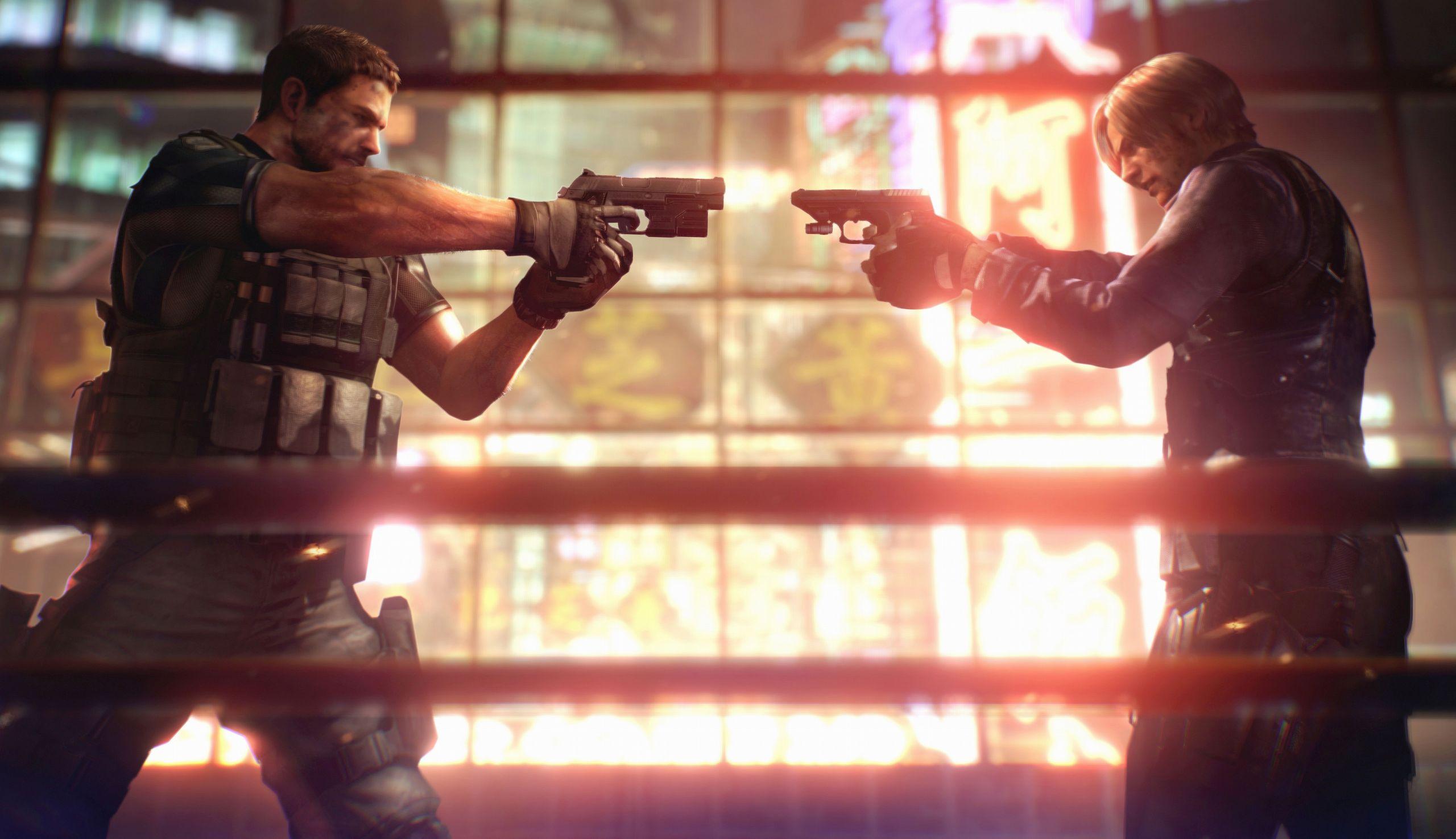 Resident Evil 6 Log 4 Why Don T The Bosses Ever Die Blondenerd Com