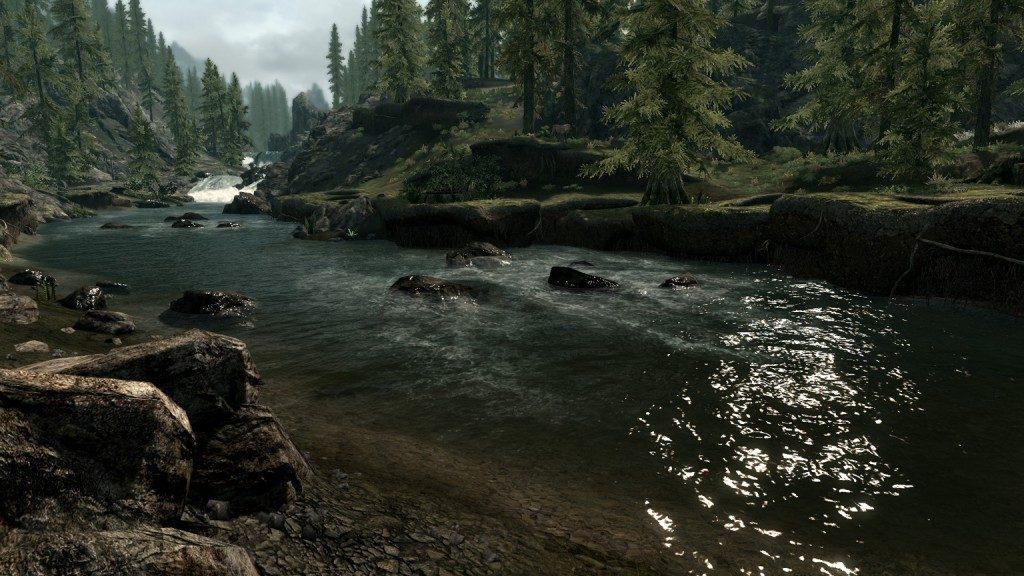 Skyrim water