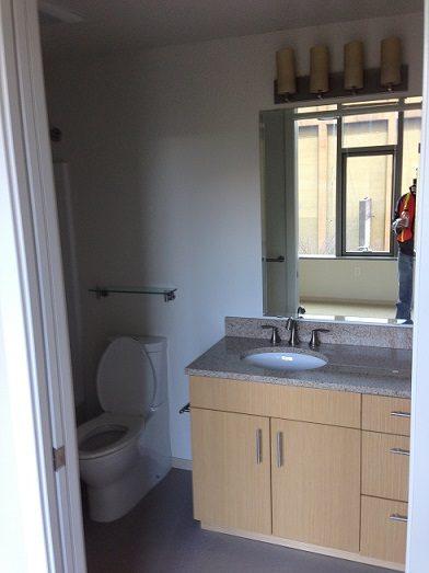 woman bathroom
