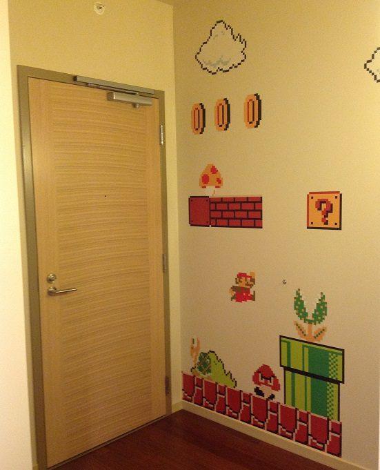 8 Bit Mario Decals 2