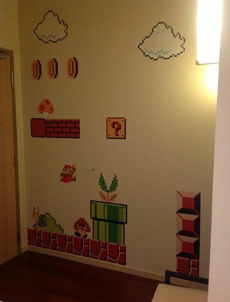 8 Bit Mario Decals
