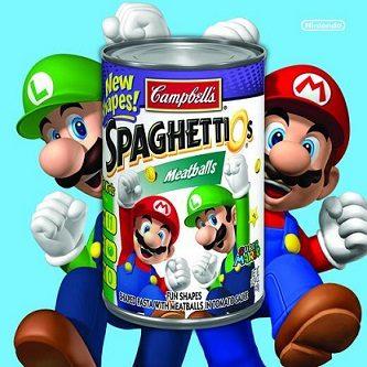 Mario Luigi Spaghettios