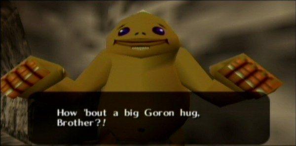 goron hug