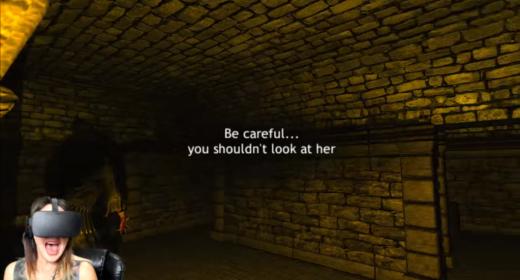 Britt Plays Dreadhalls – VR