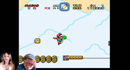 Britt and Dad Play: Super Mario World (Part 10)