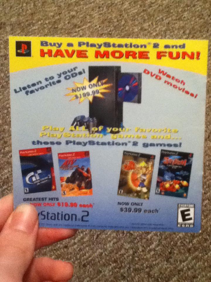 PS2 adf