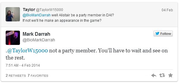 alistair party member